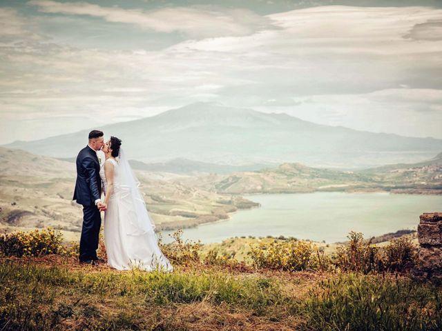 Il matrimonio di Nicoletta e Santo a Agira, Enna 113