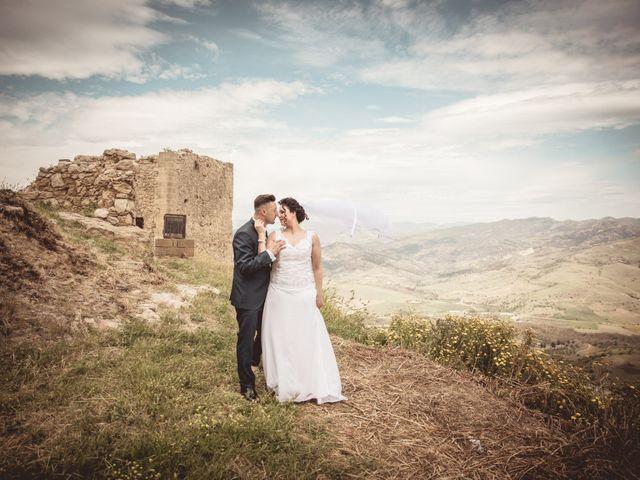 Il matrimonio di Nicoletta e Santo a Agira, Enna 119