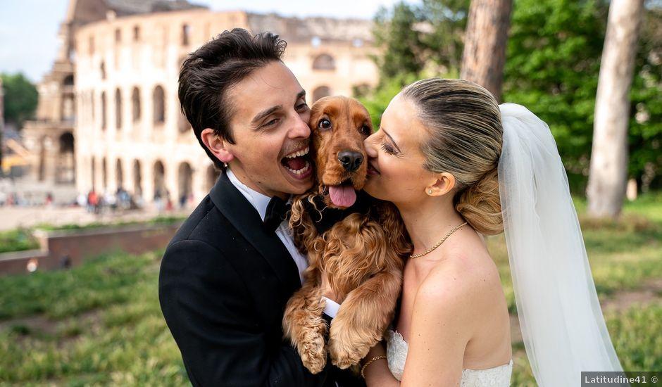 Il matrimonio di Rino e Jessica a Roma, Roma