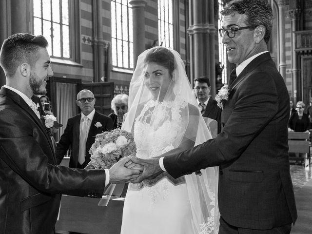 Il matrimonio di Luca e Federica a Fara Gera d'Adda, Bergamo 10