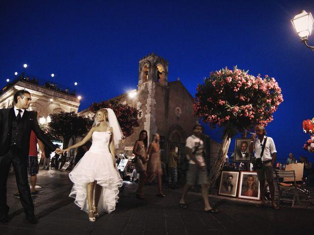le nozze di Andrea e Liuba