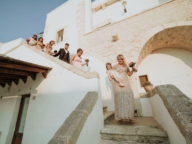 Il matrimonio di Nick e Vena a Ostuni, Brindisi 18