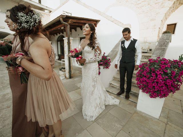 Il matrimonio di Nick e Vena a Ostuni, Brindisi 19