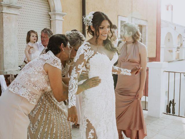 Il matrimonio di Nick e Vena a Ostuni, Brindisi 28