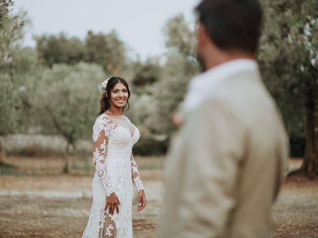 Il matrimonio di Nick e Vena a Ostuni, Brindisi 62