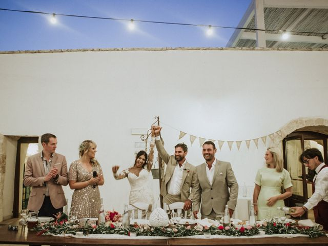 Il matrimonio di Nick e Vena a Ostuni, Brindisi 85