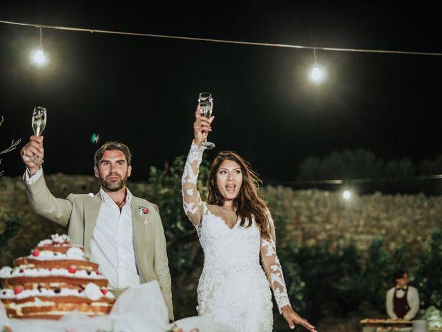 Il matrimonio di Nick e Vena a Ostuni, Brindisi 93