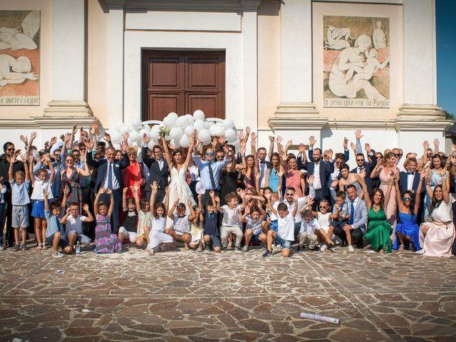 Il matrimonio di Riccardo e Federica a Maserada sul Piave, Treviso 95