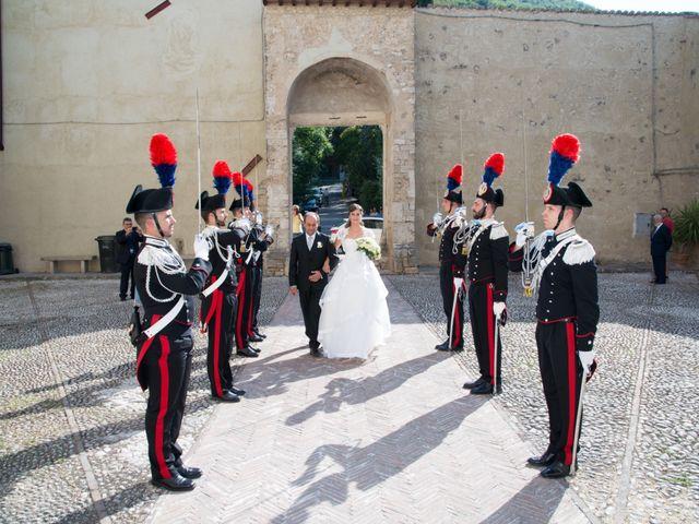 Il matrimonio di Andrea e Marta a Castelnuovo di Farfa, Rieti 5