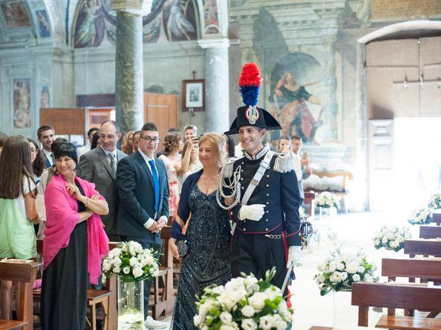 Il matrimonio di Andrea e Marta a Castelnuovo di Farfa, Rieti 6