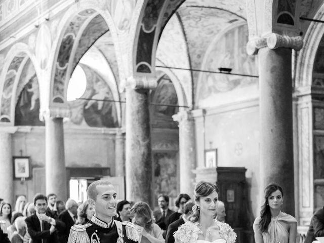 Il matrimonio di Andrea e Marta a Castelnuovo di Farfa, Rieti 7