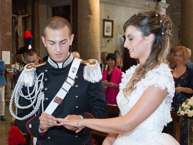 Il matrimonio di Andrea e Marta a Castelnuovo di Farfa, Rieti 10