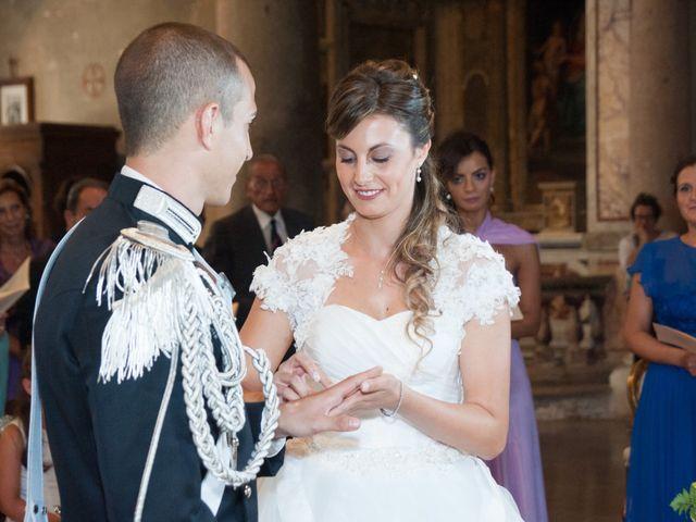 Il matrimonio di Andrea e Marta a Castelnuovo di Farfa, Rieti 11