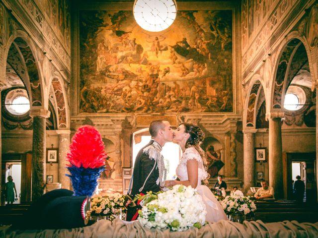 Il matrimonio di Andrea e Marta a Castelnuovo di Farfa, Rieti 12