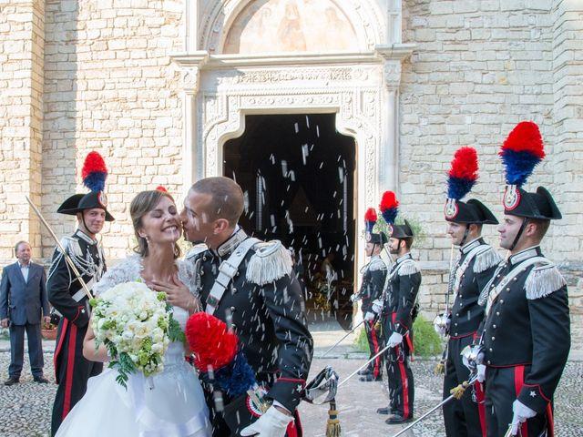 Il matrimonio di Andrea e Marta a Castelnuovo di Farfa, Rieti 13