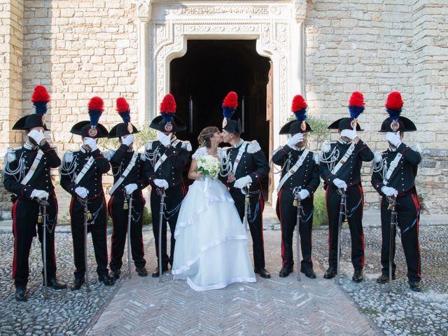 Il matrimonio di Andrea e Marta a Castelnuovo di Farfa, Rieti 14