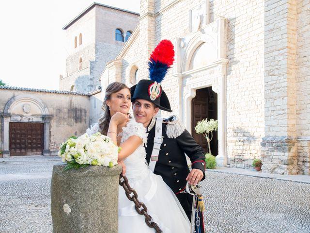 Il matrimonio di Andrea e Marta a Castelnuovo di Farfa, Rieti 16