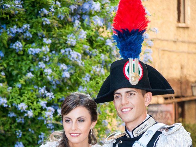 Il matrimonio di Andrea e Marta a Castelnuovo di Farfa, Rieti 17