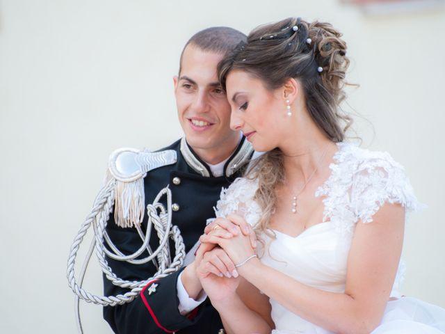 Il matrimonio di Andrea e Marta a Castelnuovo di Farfa, Rieti 1