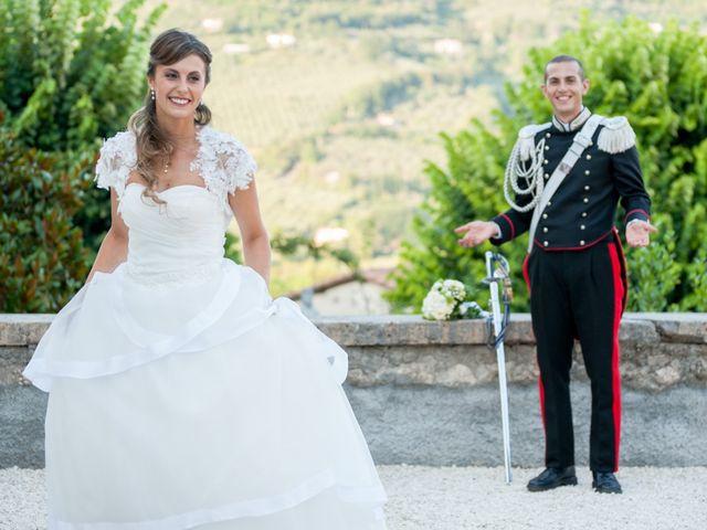Il matrimonio di Andrea e Marta a Castelnuovo di Farfa, Rieti 19
