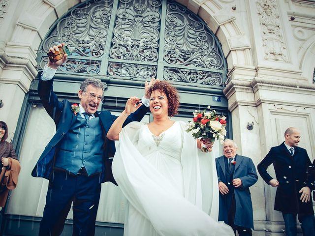Le nozze di Yusleidy e Pino