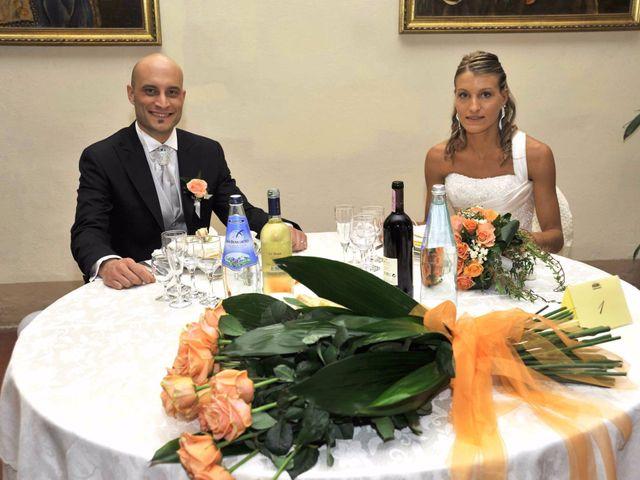 Il matrimonio di Cristina e Omar a Pieve a Nievole, Pistoia 43