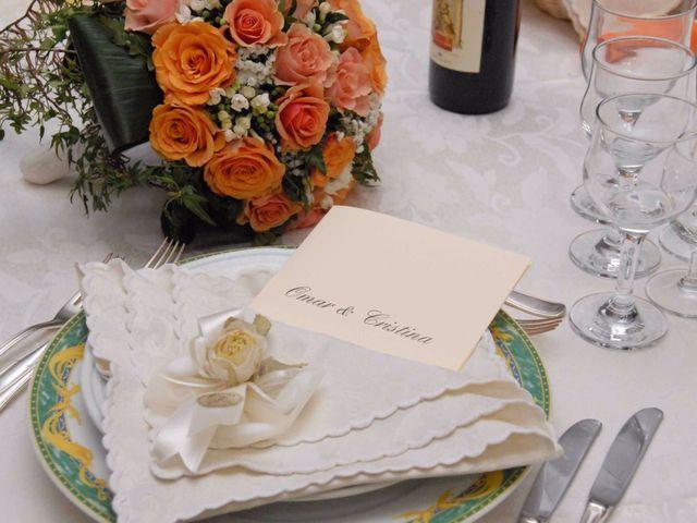 Il matrimonio di Cristina e Omar a Pieve a Nievole, Pistoia 49