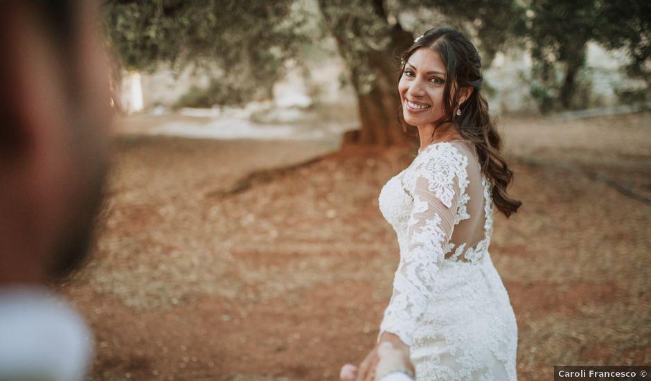 Il matrimonio di Nick e Vena a Ostuni, Brindisi