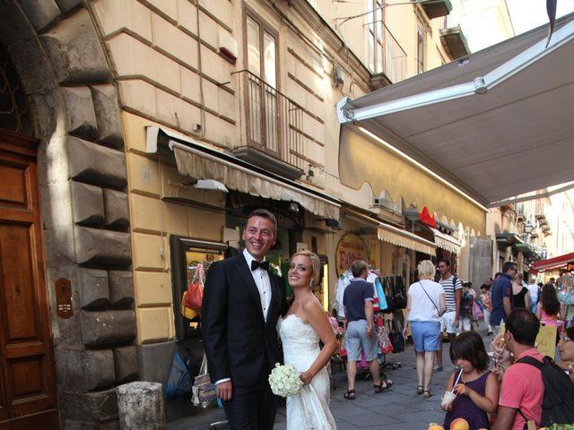 Il matrimonio di Gianpaolo e Vincenza a Sorrento, Napoli 22