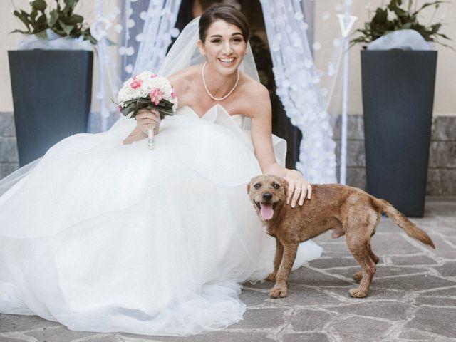 Il matrimonio di Giulio e Veronica a Santarcangelo di Romagna, Rimini 1