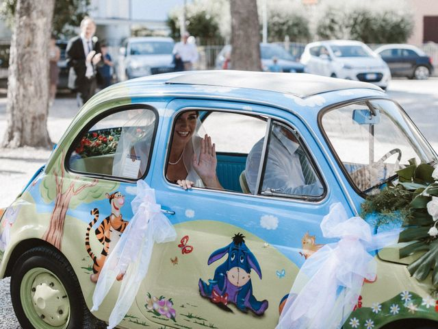 Il matrimonio di Giulio e Veronica a Santarcangelo di Romagna, Rimini 13
