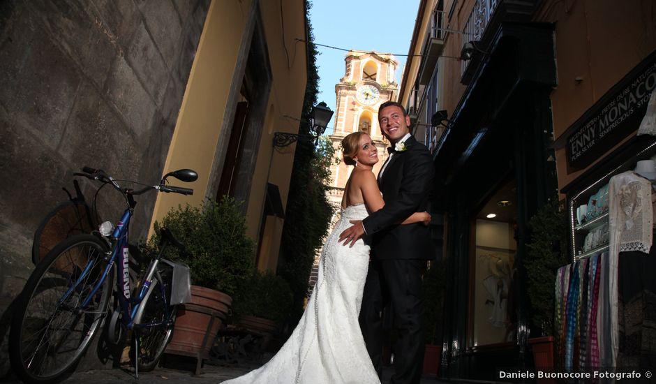 Il matrimonio di Gianpaolo e Vincenza a Sorrento, Napoli