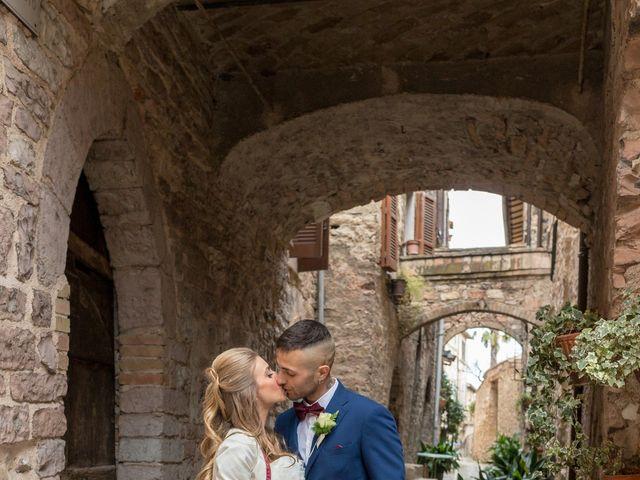 Il matrimonio di Luca e Jessica a Spello, Perugia 21