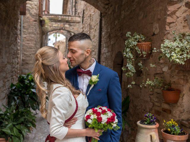 Il matrimonio di Luca e Jessica a Spello, Perugia 22