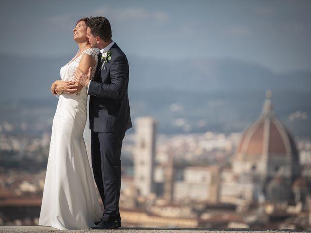 Il matrimonio di Sarti e Laura a Fiesole, Firenze 1
