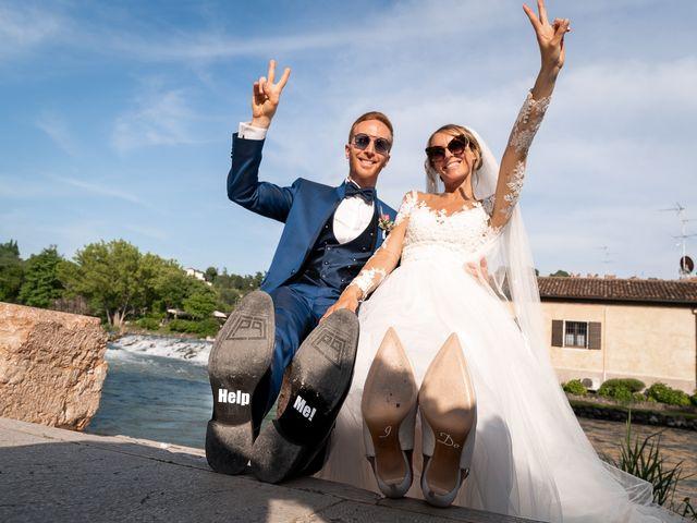 Il matrimonio di Luca e Giulia a Valeggio sul Mincio, Verona 43