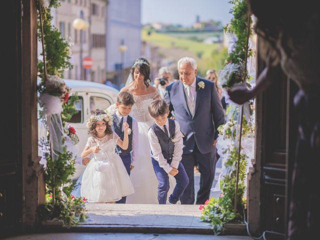 Il matrimonio di Giacomo e Camilla a Appignano, Macerata 54