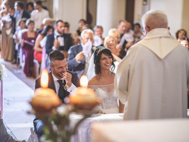 Il matrimonio di Giacomo e Camilla a Appignano, Macerata 61