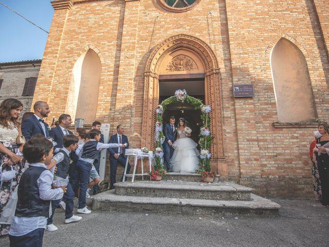 Il matrimonio di Giacomo e Camilla a Appignano, Macerata 69