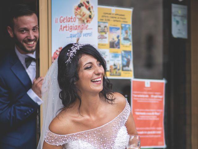 Il matrimonio di Giacomo e Camilla a Appignano, Macerata 81