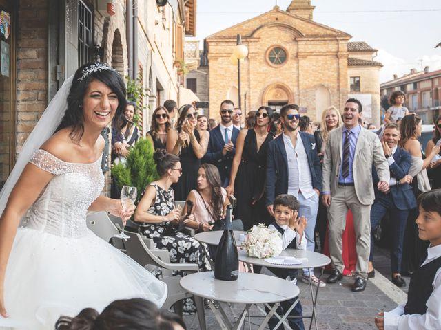 Il matrimonio di Giacomo e Camilla a Appignano, Macerata 82
