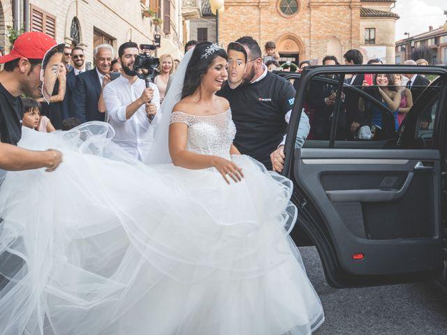 Il matrimonio di Giacomo e Camilla a Appignano, Macerata 83