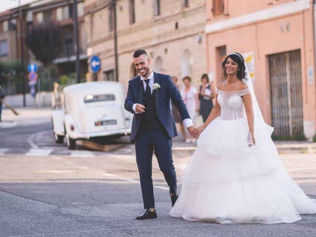Il matrimonio di Giacomo e Camilla a Appignano, Macerata 85