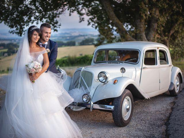 Il matrimonio di Giacomo e Camilla a Appignano, Macerata 99