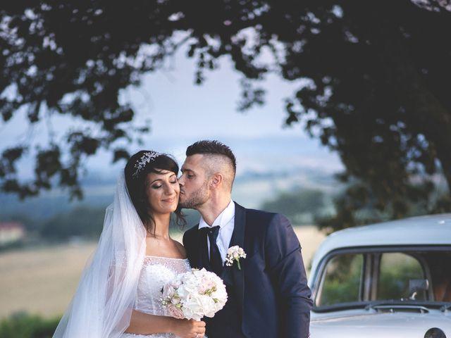 Il matrimonio di Giacomo e Camilla a Appignano, Macerata 100