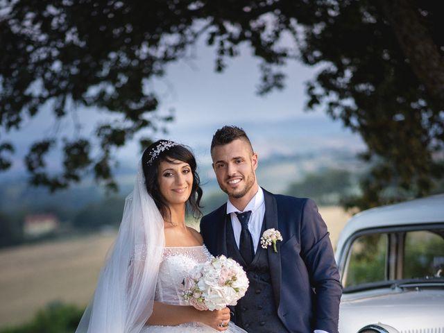 Il matrimonio di Giacomo e Camilla a Appignano, Macerata 105
