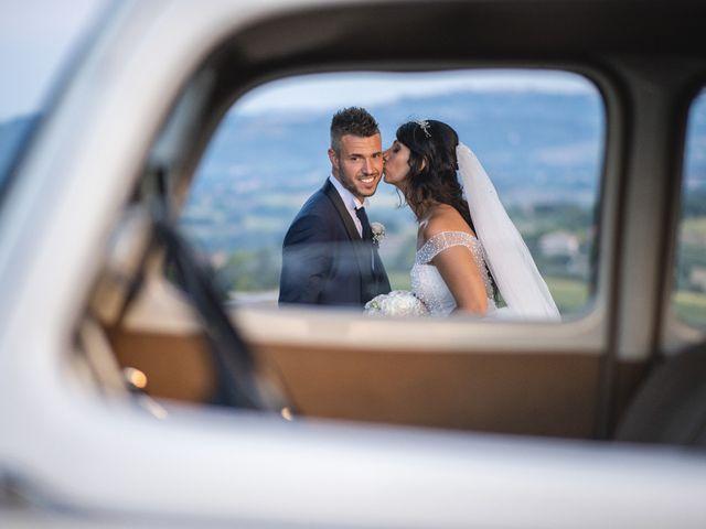 Il matrimonio di Giacomo e Camilla a Appignano, Macerata 107