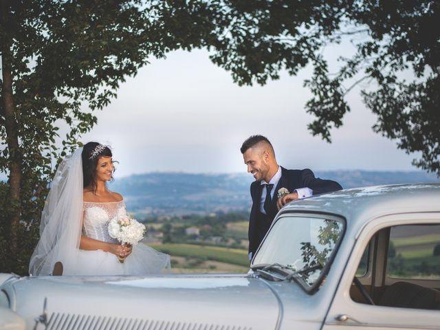 Il matrimonio di Giacomo e Camilla a Appignano, Macerata 108