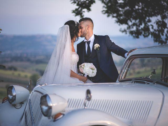 Il matrimonio di Giacomo e Camilla a Appignano, Macerata 109