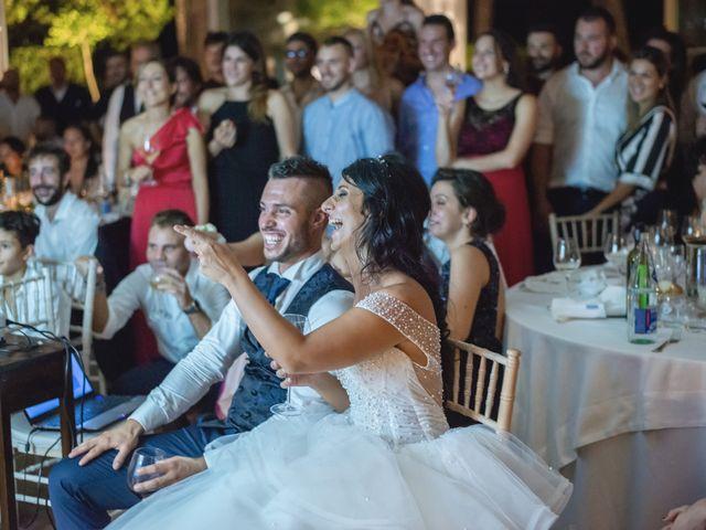 Il matrimonio di Giacomo e Camilla a Appignano, Macerata 135